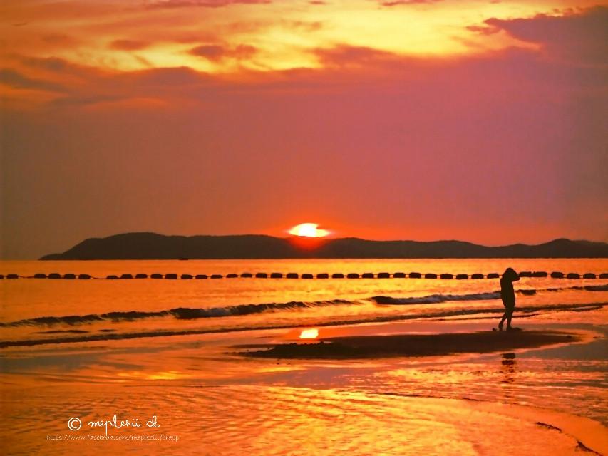 taken n edit with Samsung mobile   #Thailand #seaside