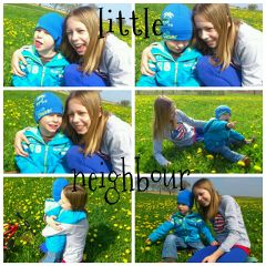 flower cute collage with my
