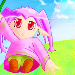 drawing colorful cute dccartooncharacter