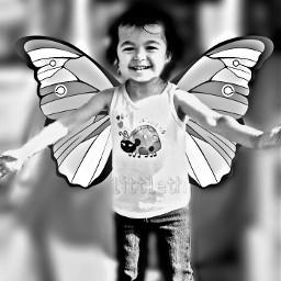 baby cute happychild photography black & white