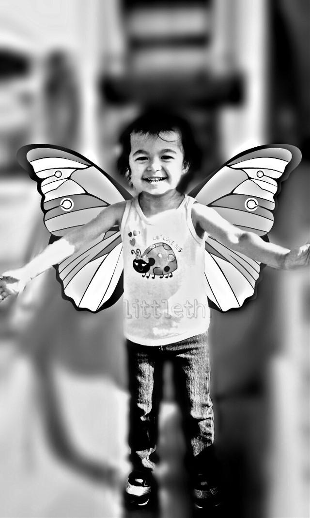 fly like a butterfly    #vignette #blur #emotions