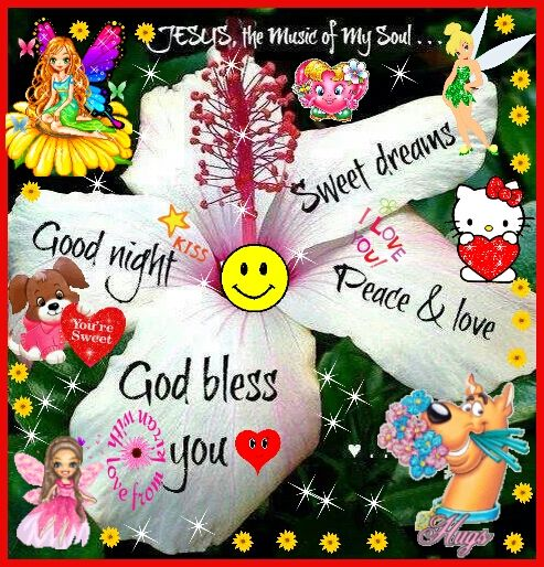 good night to all of u my sweet sweet lovely friendss