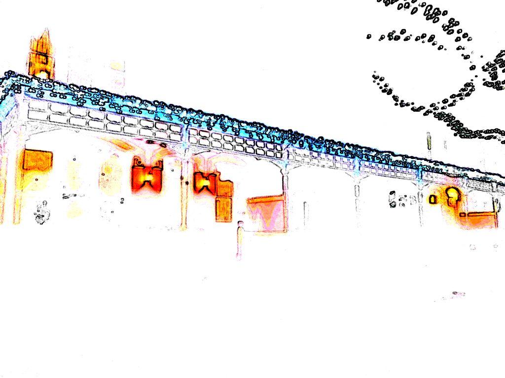Abstract Xmas: A Ave, 2
