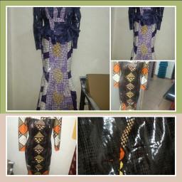 leather african ankara fashion designs