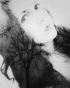 selfie art editstepbystep vintage black