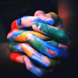 art fingerdrawings hands fantasy fingersdrawing