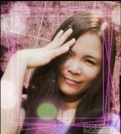 frames selfie bokeh cute retro