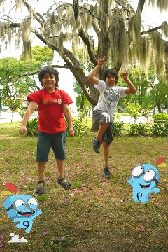 waphappy kids brothers jump funny