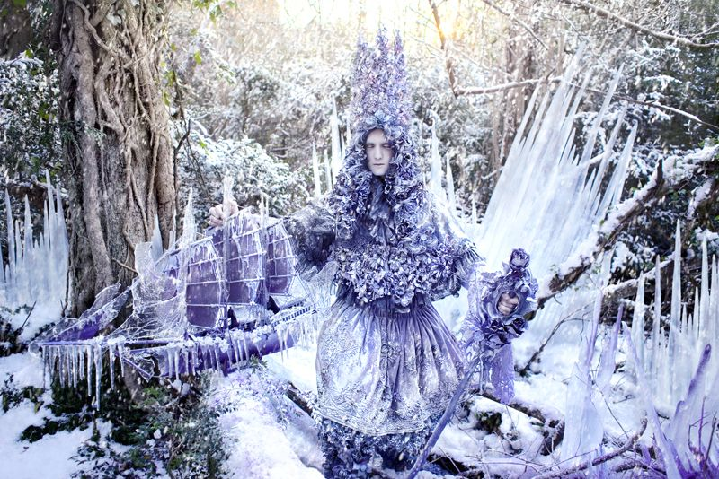 interview with photographer Kirsty Mitchell