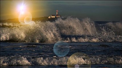 lighthouse light ocean beautiful amazing